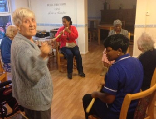 Movement to music with Diane